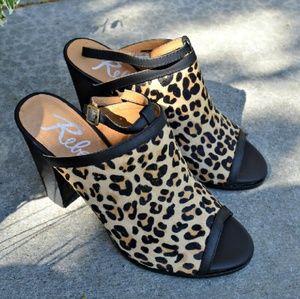 ♡ Rebels ♡ Alberta sandals heels in leopard